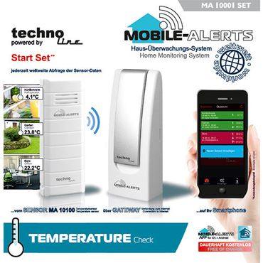 MOBILE ALERTS MA 10700 THERMO HYGRO SENSOR POOL TEICH THERMOMET POOLSENSOR – Bild 8