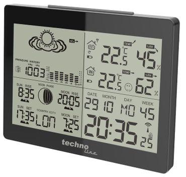 Technoline WS 6760 Profi-Wetterstation Wettervorhersage max.3 Aussensender Frost – Bild 5