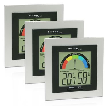WS 9430 3er SET THERMOMETER HYGROMETER DIGITAL RAUMKOMFORTANZEIGE – Bild 1