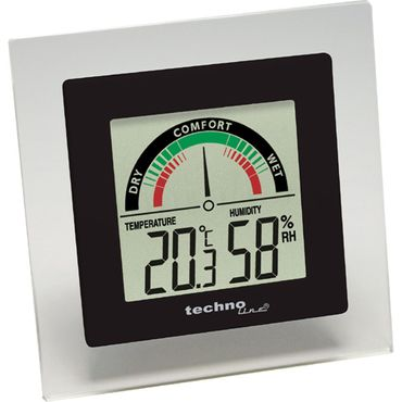 WS 9415 2er SET MIN-MAX TEMPERATURSTATION ZIMMER THERMOMETER HYGROMETER DIGITAL TECHNOLINE  – Bild 2