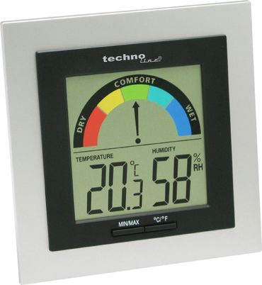 WS 9430 2er SET THERMOMETER HYGROMETER DIGITAL RAUMKOMFORTANZEIGE – Bild 2