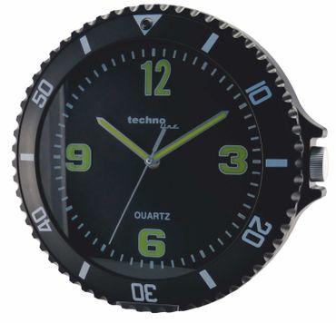 WT 9400 Technoline Wanduhr Küchenuhr Bürouhr Uhr rund