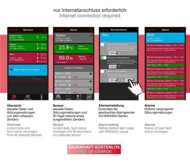 Technoline Mobile Alerts Fensterkontakt, 1-er Set, MA 10800-1  – Bild 5