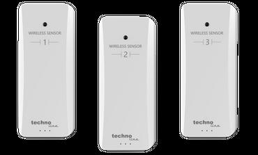 WS 7060 Thermometer Hygrometer mit 3 Sendern 4 Temperaturbereiche auf 1 Blick – Bild 5