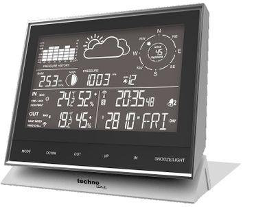 Funk Profi Wetterstation Technoline WS 1700 mit Wind Regen Thermo Hygro Sensor – Bild 1