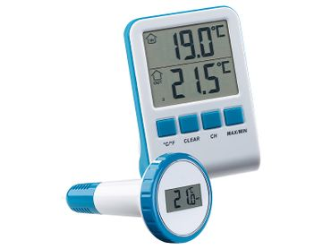 Funk-Poolthermometer Teichthermometer Wasserthermometer Digital inkl. Batterien – Bild 1