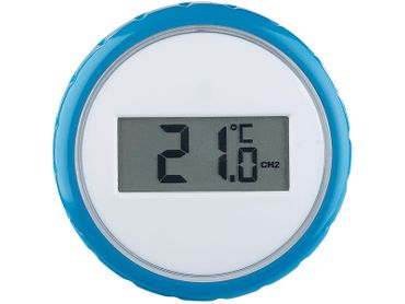 Funk-Poolthermometer Teichthermometer Wasserthermometer Digital inkl. Batterien – Bild 5