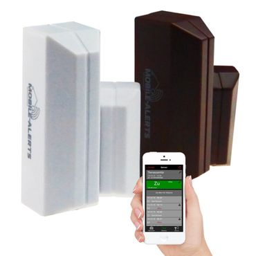 Technoline Mobile Alerts Fensterkontakt, 3-er Set, MA 10800-3