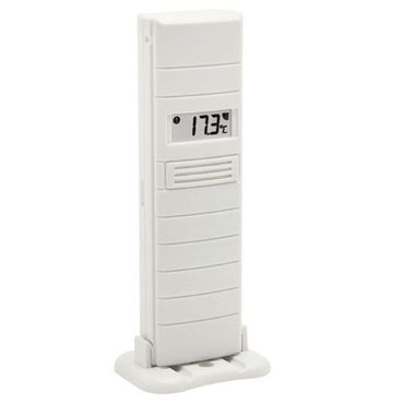 Proficell Technoline TX 35 DTH-IT Sender Außensender (weiß mit Batterien)