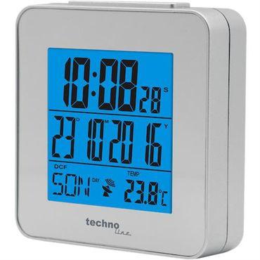 Funkwecker Technoline WT 268 Silber Datum Timer Temperatur Alarm Beleuchtet  – Bild 3
