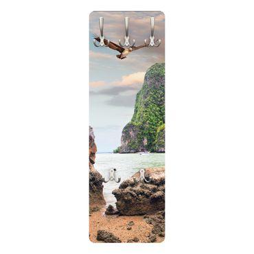 Garderobe Thailand Beach II - Vertikal – Bild 1