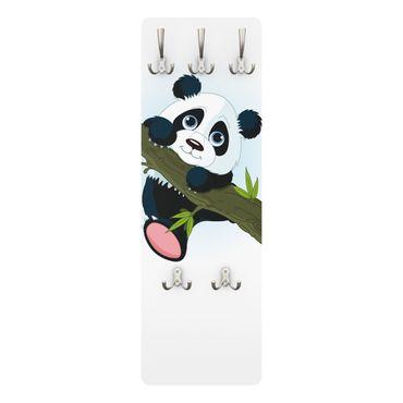 Garderobe Pandabären - Vertikal