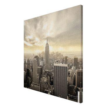 Leinwandbild Manhattan Skyline – Bild 3