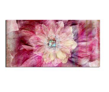 Leinwandbild Gerbera Flower 2 zu 1