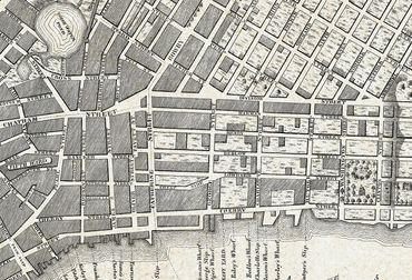 Vliestapete Old City Map New York 372x254cm – Bild 3