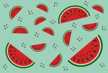 Vliestapete Melons 372x254cm
