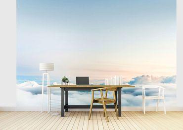 Vliestapete Over the Clouds 372x254cm – Bild 2
