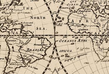 Vliestapete World in Planisphere 372x254cm – Bild 3
