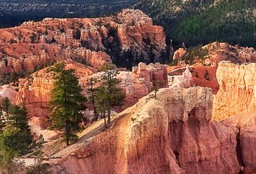 Vliestapete Lightning over Bryce Canyon 372x254cm – Bild 3
