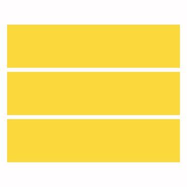 Möbelfolie Malm - Gelb – Bild 4