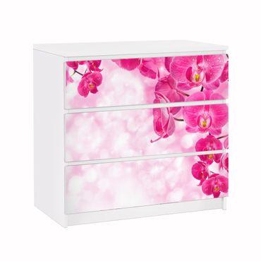 Möbelfolie IKEA Kommode - Selbstklebefolie - Design: Orchidee