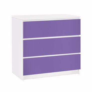 Möbelfolie IKEA Kommode - Selbstklebefolie - Design: Lavendel – Bild 1