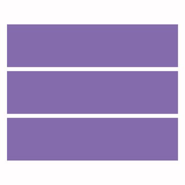 Möbelfolie IKEA Kommode - Selbstklebefolie - Design: Lavendel – Bild 4