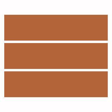 Möbelfolie IKEA Kommode - Selbstklebefolie - Design: Hasselnuss Braun – Bild 4