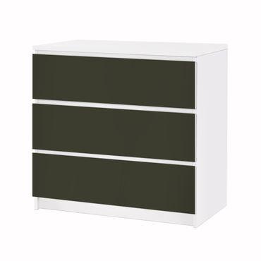 Möbelfolie IKEA Kommode - Selbstklebefolie - Design: Anthrazit – Bild 3