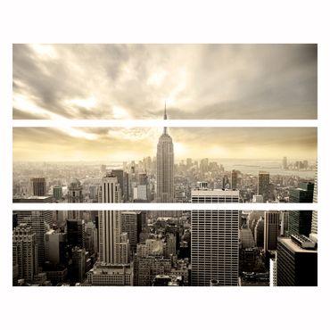 Möbelfolie IKEA Kommode - Selbstklebefolie - Design: Shining Manhattan – Bild 4