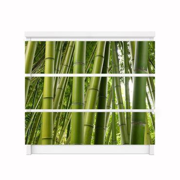 Möbelfolie IKEA Kommode - Selbstklebefolie - Design: Bamboo Trees No.2 – Bild 2