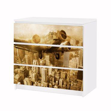 Möbelfolie IKEA Kommode - Selbstklebefolie - Design: Junkers 52 – Bild 3