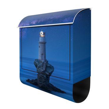 Design Briefkasten - Leuchtturm bei Nacht – Bild 3