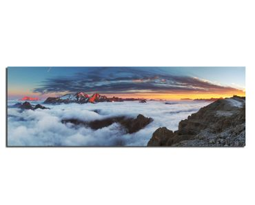Leinwand Above the Clouds – Bild 1