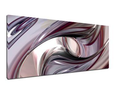 Leinwandbild Metallwirbel – Bild 2