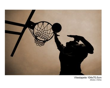 Fototapete Basketball