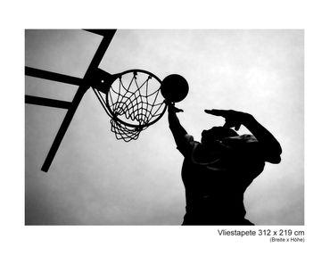 Fototapete Basketball | scharz weiß – Bild 7