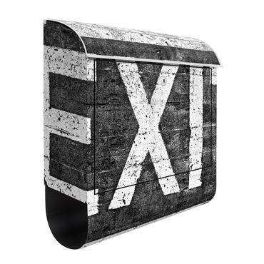 Design Briefkasten -  Exit Point - mit Zeitungsfach  – Bild 2