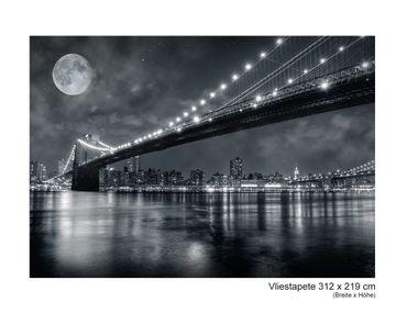 Fototapete Vlies Brooklyn by Night – Bild 7