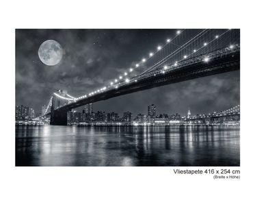 Fototapete Vlies Brooklyn by Night – Bild 9