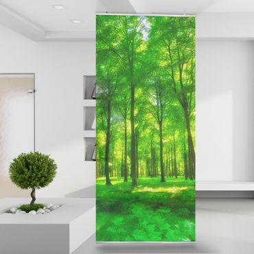 Raumteiler | Gardine Bäume des Lebens - 120 x 250 cm – Bild 1
