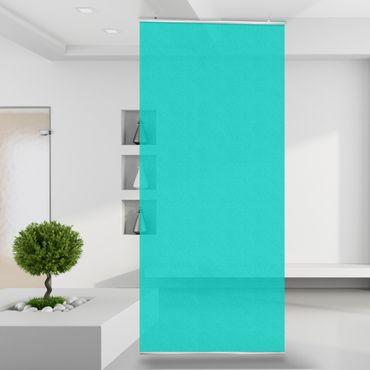 Raumteiler | Gardine Türkis - Turquoise - einfarbig - 120 x 250 cm