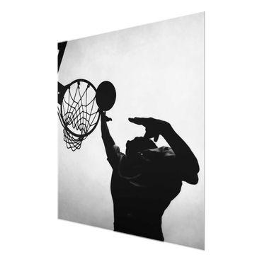 Acrylbild Basketball schwarz weiß – Bild 6