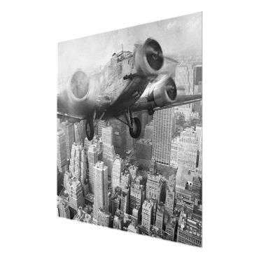 Acrylbild Junkers 52 schwarz weiß – Bild 6