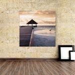 Acrylbild Tropical Beach