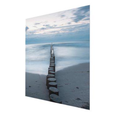 Acrylbild Wellenbrecher – Bild 6