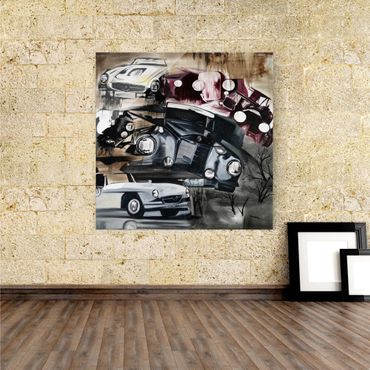 Acrylbild Old Cars – Bild 1