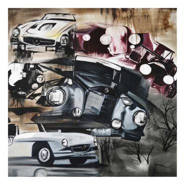 Acrylbild Old Cars – Bild 5