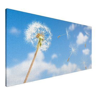 Leinwandbild Pusteblume in den Wolken 2 zu 1 – Bild 3