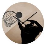 Designuhr Basketball